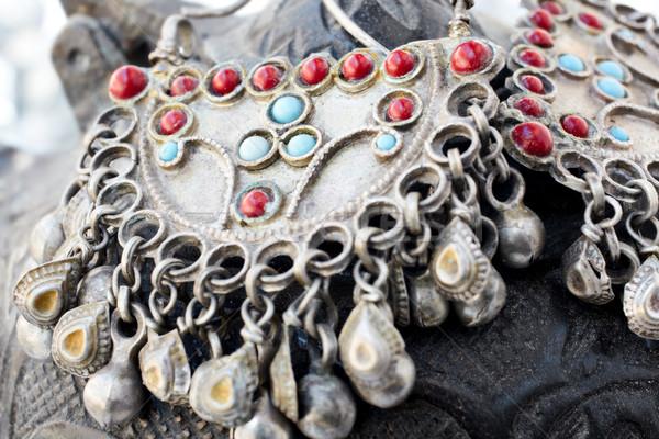 антикварная турецкий серебро лет старые Сток-фото © lubavnel
