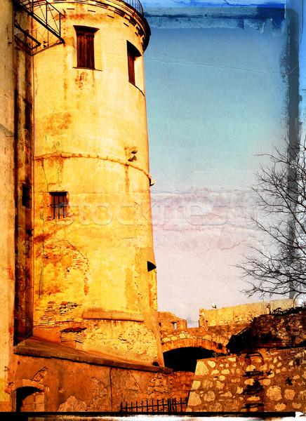 Grunge prison Stock photo © lubavnel