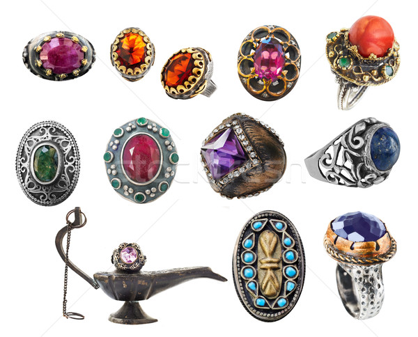 collection of rings. Stock photo © lubavnel