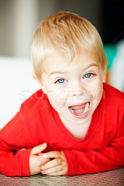toddler boy Stock photo © lubavnel