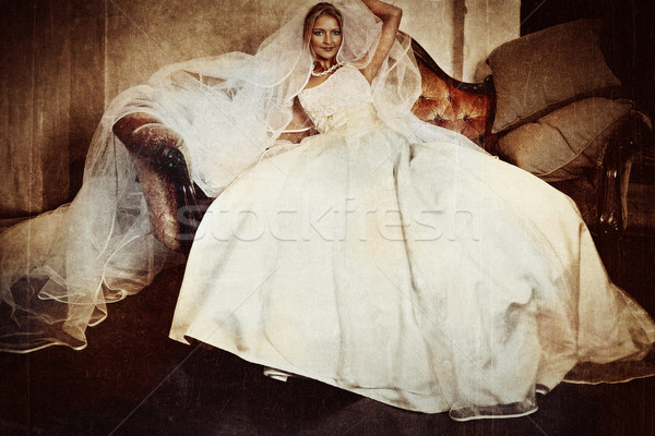beautiful bride  Stock photo © lubavnel