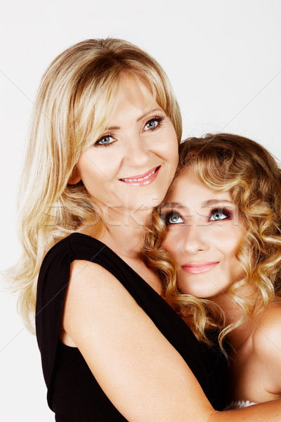 mother and daughter Stock photo © lubavnel