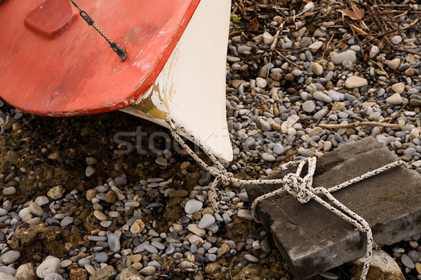 beached boat Stock photo © lubavnel