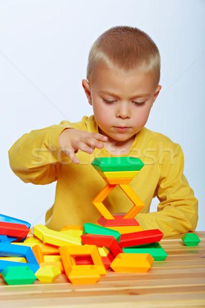 мало мальчика играет год старые Сток-фото © lubavnel