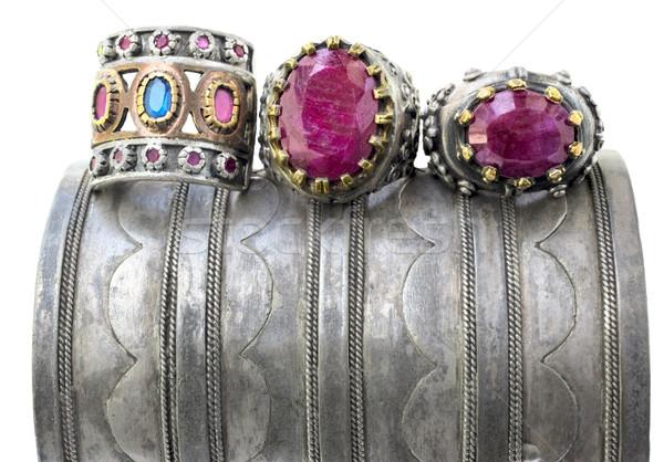 three ottoman rings. Stock photo © lubavnel