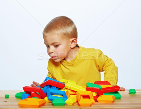 Сток-фото: мало · мальчика · играет · год · старые