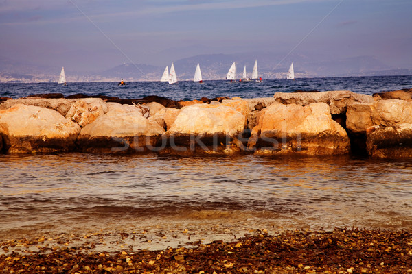 boat race Stock photo © lubavnel