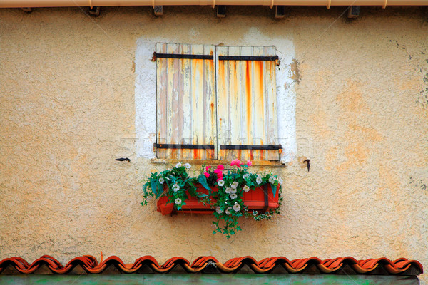 Window with shutters in France Stock photo © lubavnel
