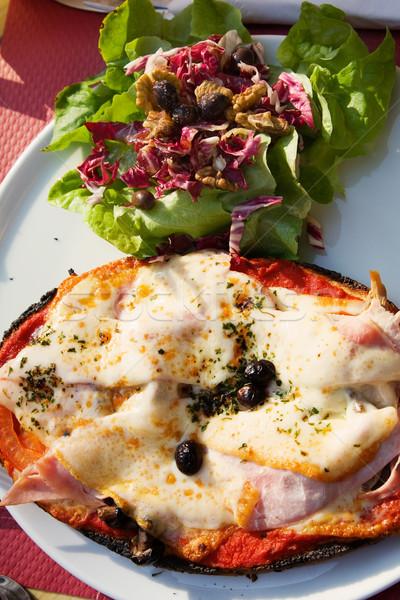 pizza for dinner Stock photo © lubavnel