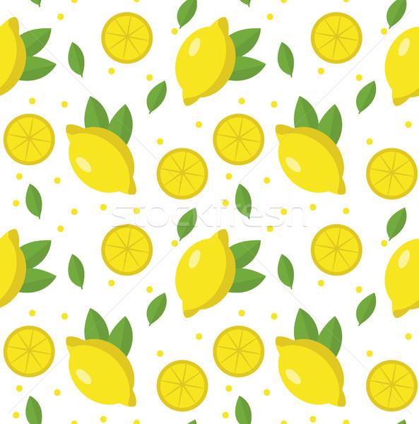 レモン レモネード エンドレス テクスチャ 果物 ストックフォト © lucia_fox