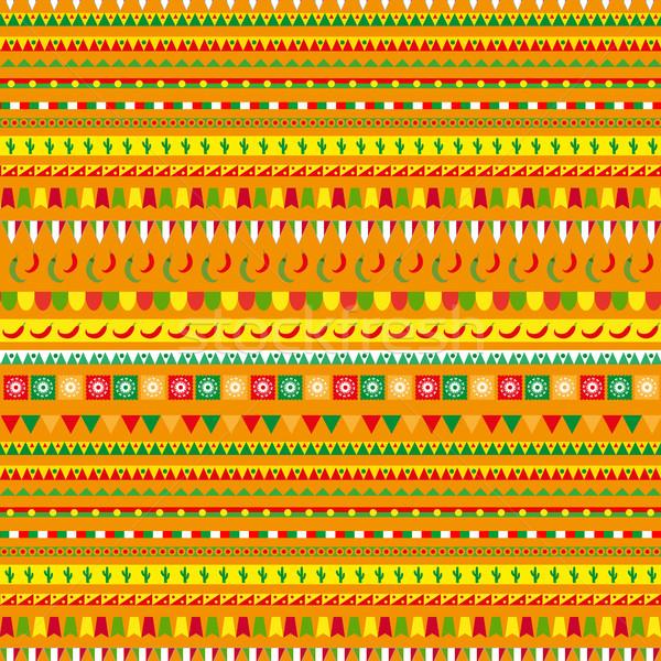 Geleneksel süs Meksika etnik Stok fotoğraf © lucia_fox