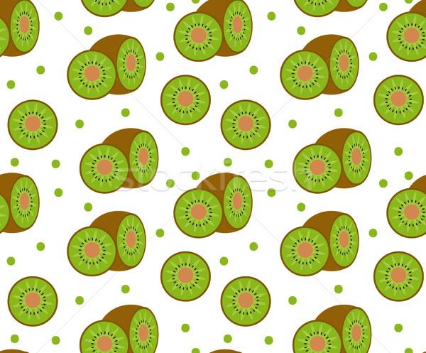 киви бесконечный текстуры плодов фон Сток-фото © lucia_fox