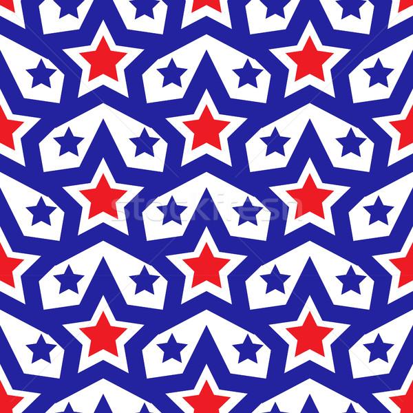 ストックフォト: アメリカン · アメリカ合衆国 · フラグ · 日