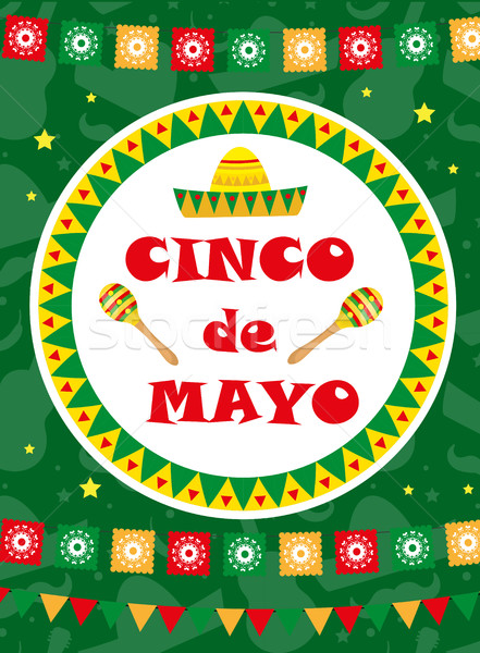 Cinco de mayo greeting card template for flyer poster invitation add to lightbox download comp m4hsunfo