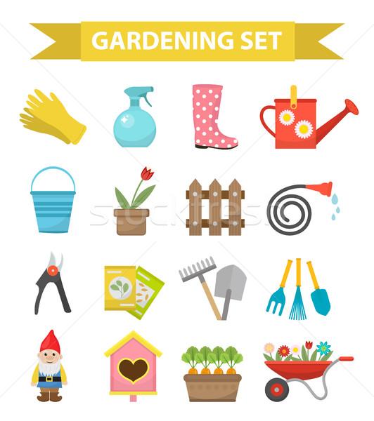 ガーデニング スタイル 庭園 コレクション ストックフォト © lucia_fox