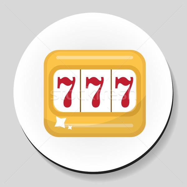Bandiet sticker icon stijl ontwerp achtergrond Stockfoto © lucia_fox