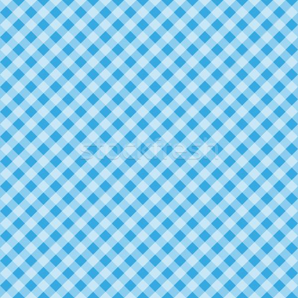Festa Junina tartan seamless pattern. Cage endless background, square repeating texture. Vector illu Stock photo © lucia_fox