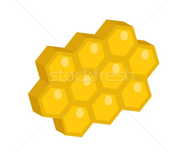 Méhsejt ikon stílus izolált fehér clipart Stock fotó © lucia_fox