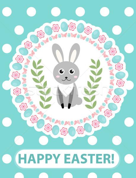グリーティングカード チラシ ポスター ウサギ バニー ストックフォト © lucia_fox
