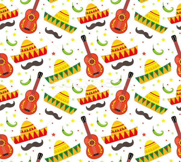майонез мексиканских праздник бесконечный текстуры Сток-фото © lucia_fox