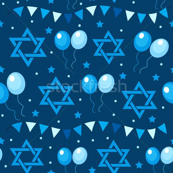 Szczęśliwy dzień flagi wakacje nieskończony Zdjęcia stock © lucia_fox