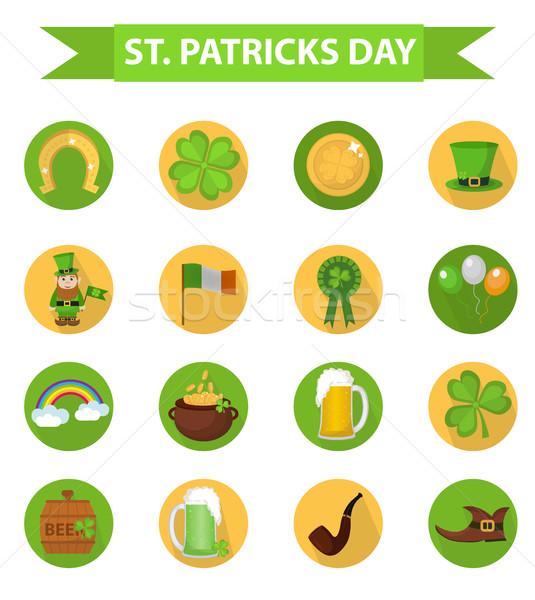 Geleneksel İrlandalı semboller Stok fotoğraf © lucia_fox
