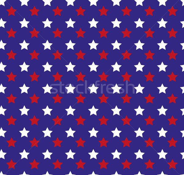 Independence Day of America seamless pattern. July 4th endless background. USA national holiday repe Stock photo © lucia_fox