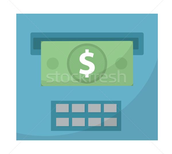 気圧 外に お金 アイコン デザイン 孤立した ストックフォト © lucia_fox