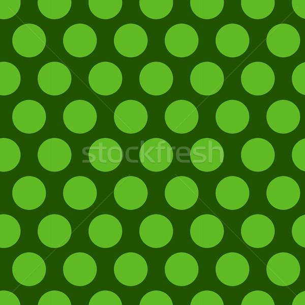 à pois vert texture bébé Photo stock © lucia_fox