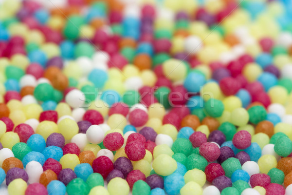 Kleurrijk snoep textuur voedsel cake regenboog Stockfoto © lucielang