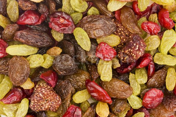 Séché mélange de fruits alimentaire manger sweet macro Photo stock © lucielang