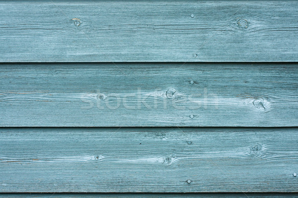 Green painted fence texture Stock photo © lucielang