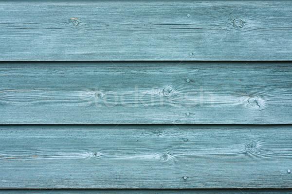 Stockfoto: Groene · geschilderd · hek · textuur · achtergrond · patroon