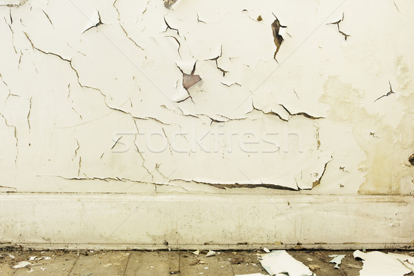 Peeling white paint background Stock photo © lucielang