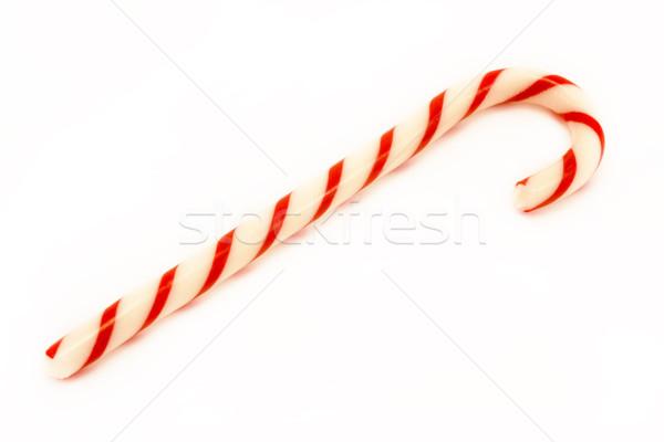 Kırmızı çizgili beyaz gıda Noel Stok fotoğraf © lucielang