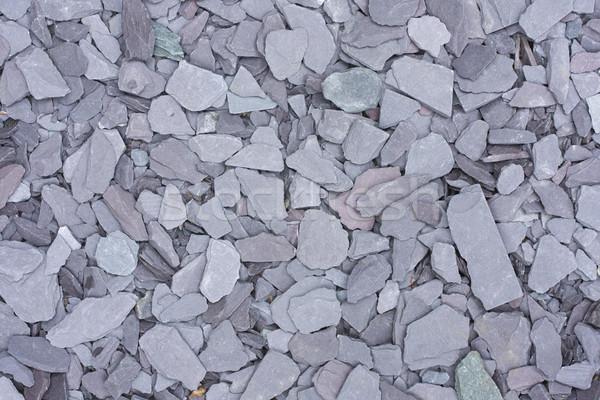 Cips gri soyut arka plan kaya spa Stok fotoğraf © lucielang