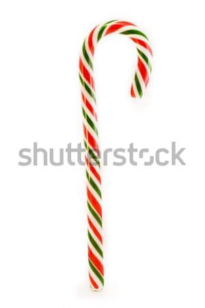 Kırmızı yeşil beyaz Noel kutlama Stok fotoğraf © lucielang