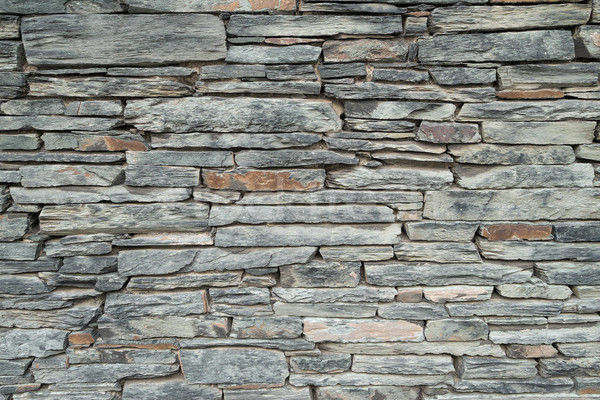 Background texture of a slate stone wall. Stock photo © lucielang