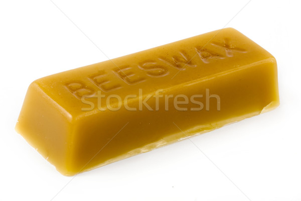 Stick of beeswax Stock photo © lucielang