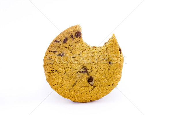 Chocolat puce cookie mordre sucre Photo stock © lucielang