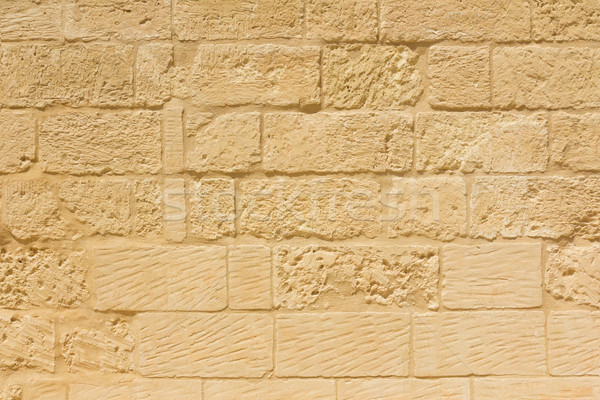 Weathered sandstone brick wall Stock photo © lucielang
