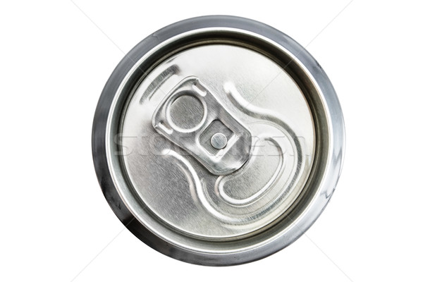Top view of an unopened drinks can Stock photo © lucielang