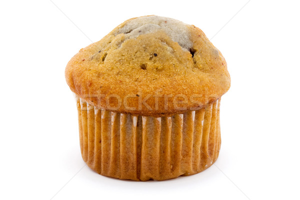 Blueberry muffin isolated over white Stock photo © lucielang