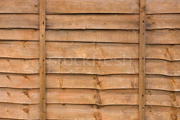 木製 フェンス パネル テクスチャ 庭園 背景 ストックフォト © lucielang
