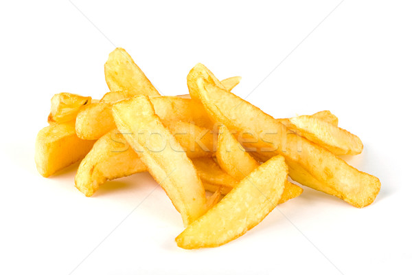 Pile of french fries  Stock photo © lucielang