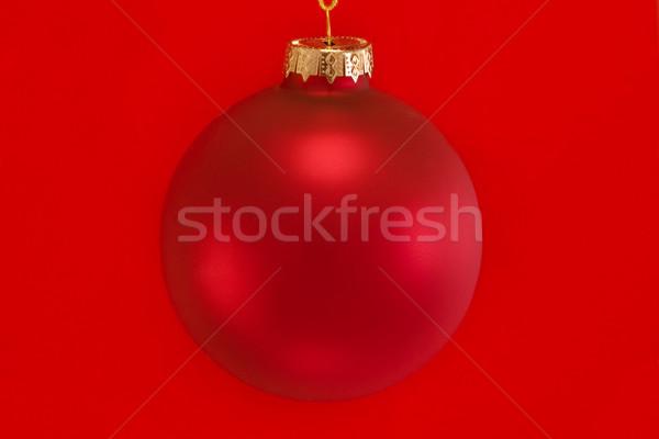 Rood snuisterij geïsoleerd achtergrond Stockfoto © lucielang