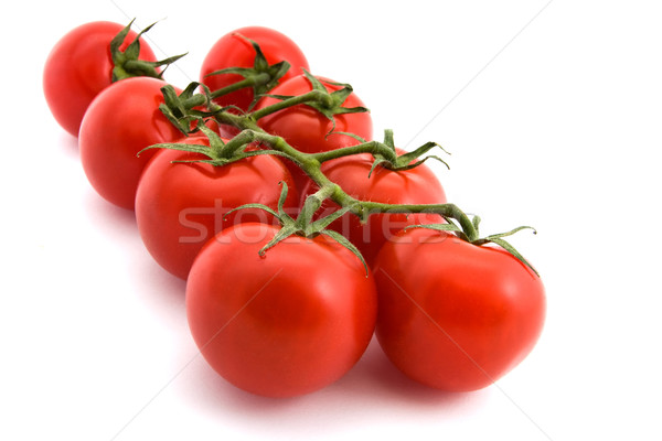Tomates vigne blanche alimentaire fruits jardin Photo stock © lucielang