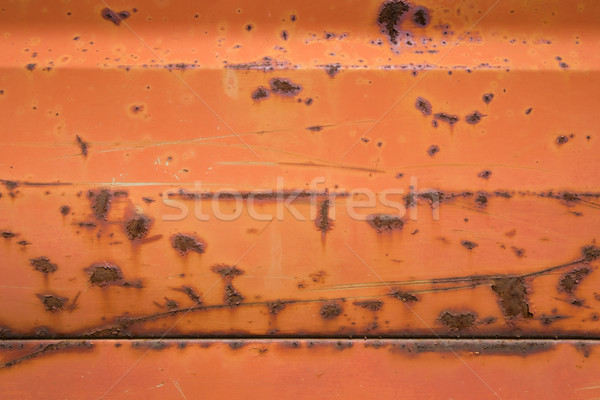 Rusty red metal background. Stock photo © lucielang
