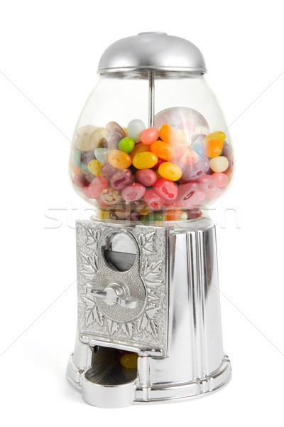 ретро Sweet торговый автомат желе боб Сток-фото © lucielang