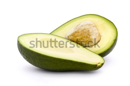 свежие авокадо Cut каменные зеленый Сток-фото © lucielang